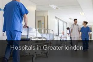 Hospitals in Greater london