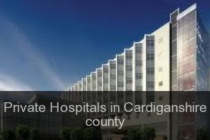 Private Hospitals in Cardiganshire county
