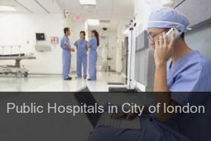 Public Hospitals in City of london