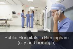 Public Hospitals in Birmingham (city and borough)