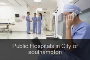 Public Hospitals in City of southampton