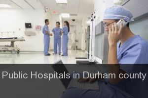 Public Hospitals in Durham county