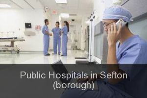 Public Hospitals in Sefton (borough)
